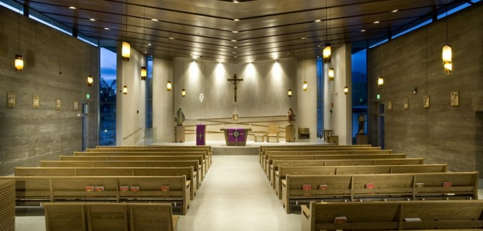 Amazing Modern Church Interior Design Ideas