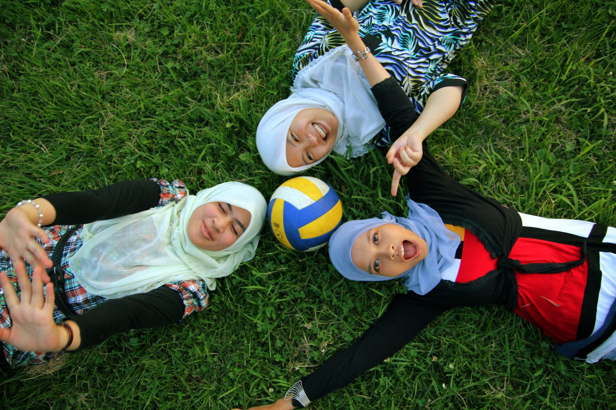 muslim teenage girls