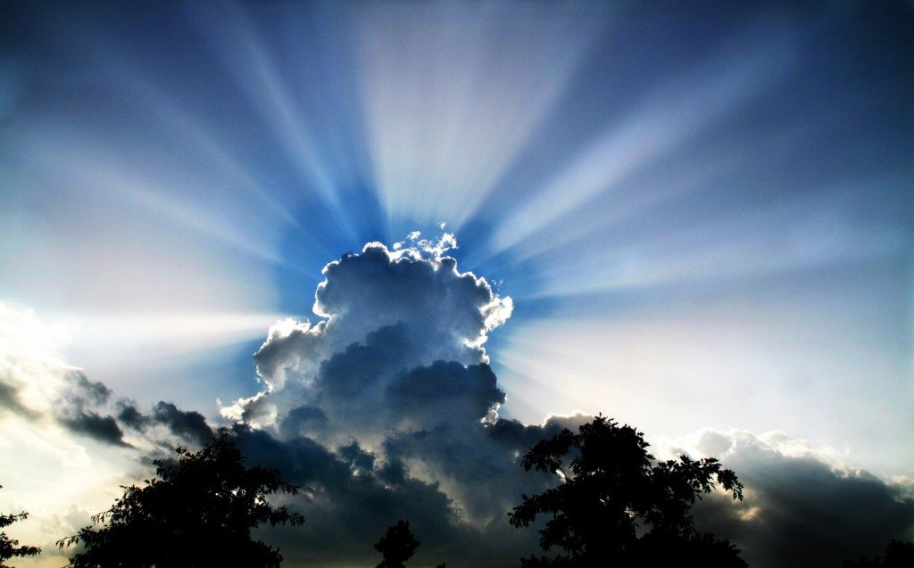 Looking for the silver lining? The whole cloud is silver!