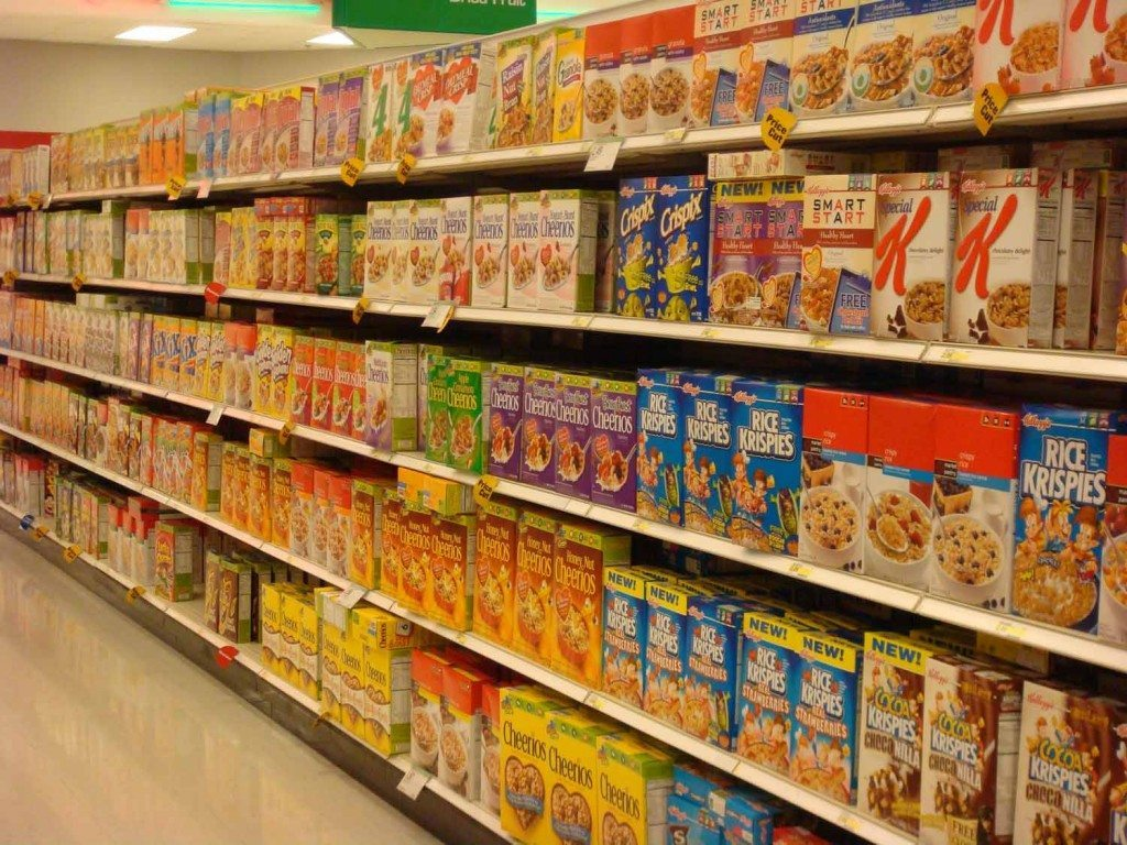 Sugary Cereals are a treat not a regular breakfast option