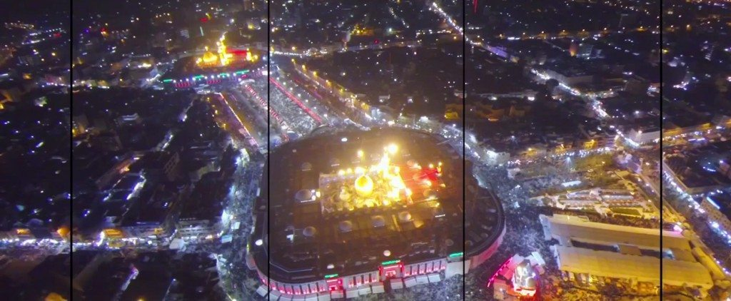 Angels over Karbala: Beautiful drone footage from the Holy City
