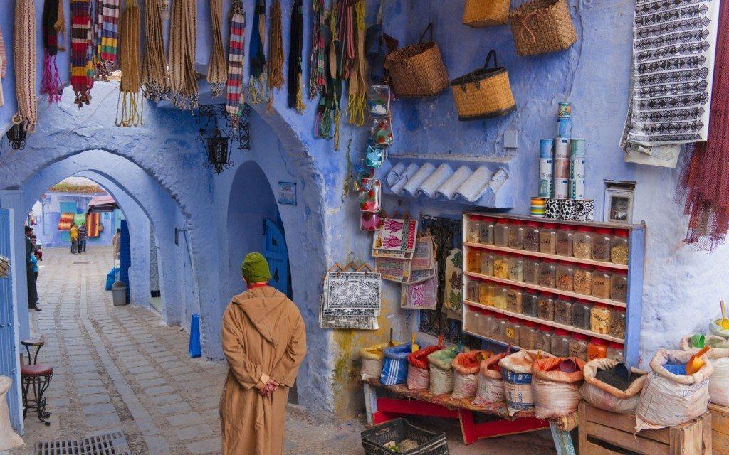 Morocco market muslim friendly holiday