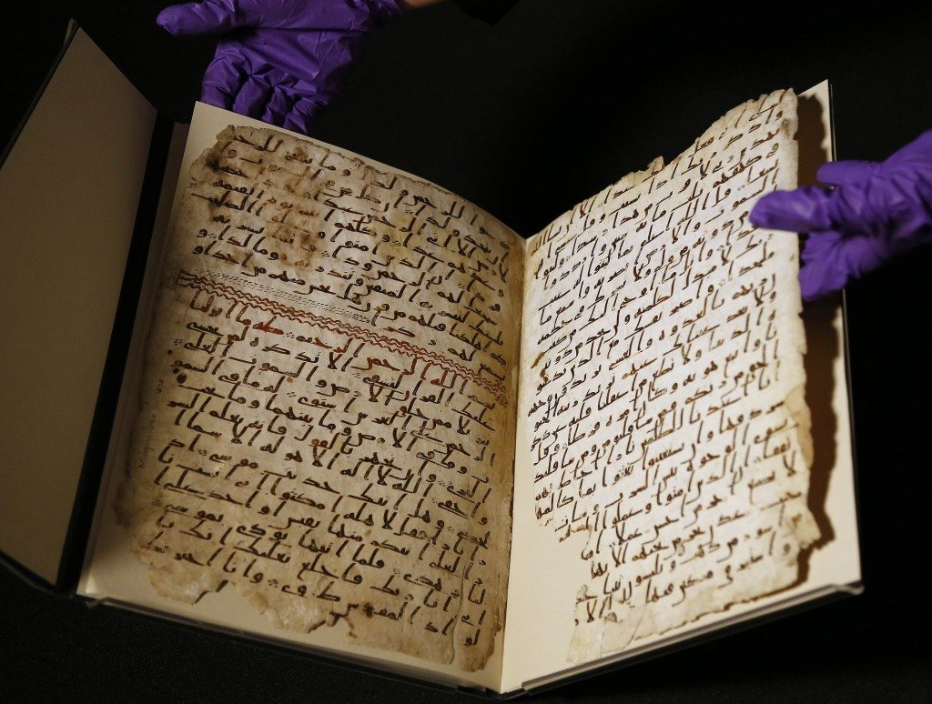 'Oldest Quran' discovery proves The Holy Quran has never been changed