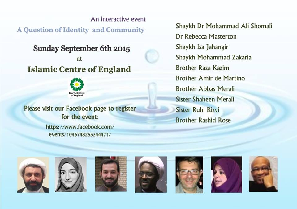 Conference on Identity and Community Spirit Muslim
