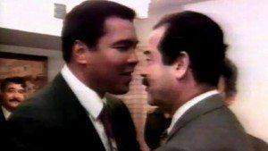 Saddam Hussain Muhammad Ali Iraq