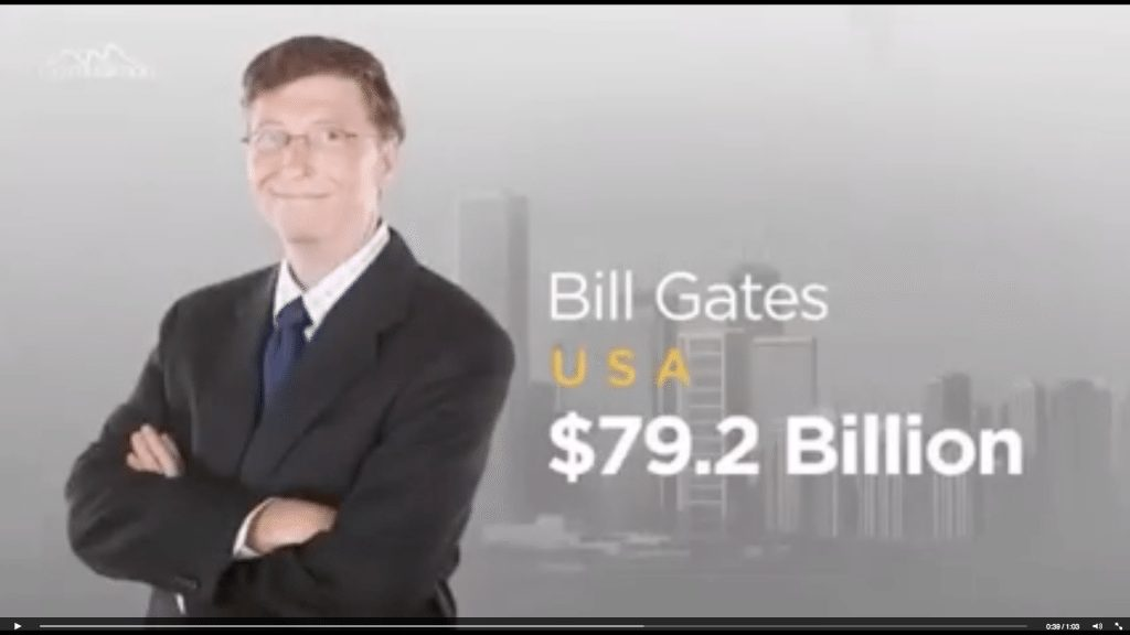 Who is the richest person in the world? (video)