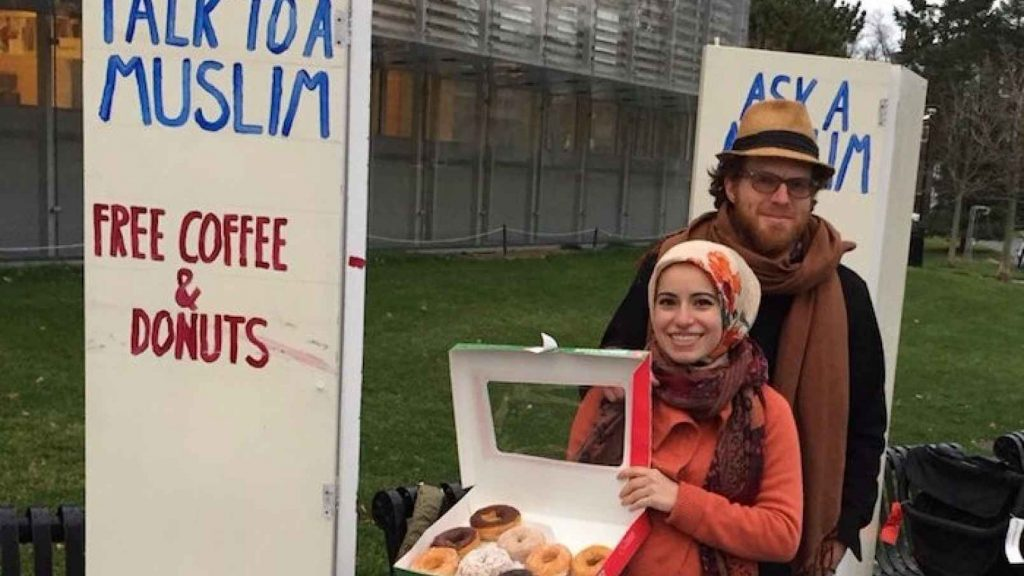 """An uplifting interview with the couple behind the """"Ask a Muslim"""" initiative"""