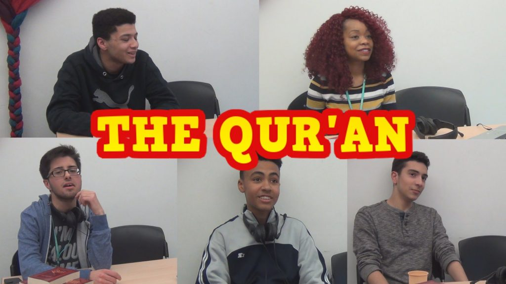 Teens react to the Holy Quran for the first time (video)