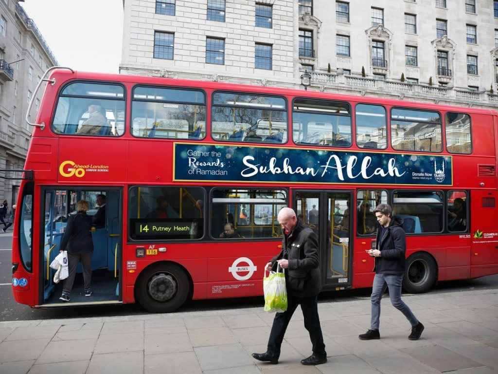 Muslim charity to run bus ad campaign with 'SubhanAllah' on the poster …and some people aren't happy!