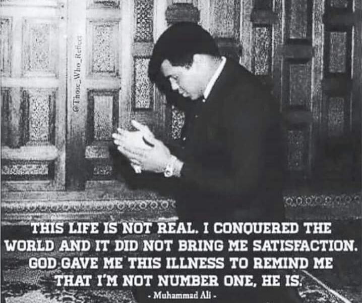 Muhammad Ali Muslim Allah God Prayer Islam