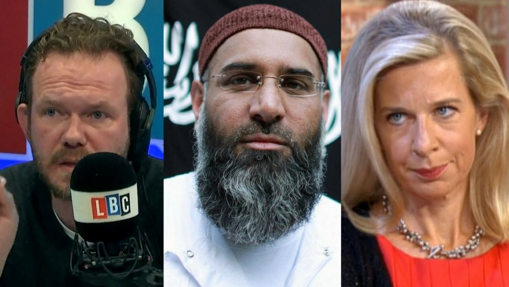 LBC presenter bashes the media over Anjem Choudary…but what about Katie Hopkins?