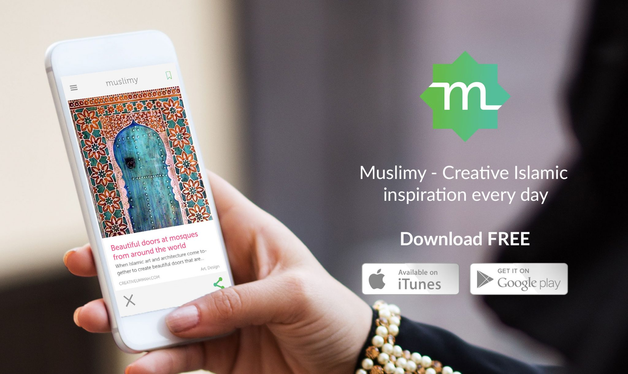 Muslimy - the awesome new app with daily content! - The