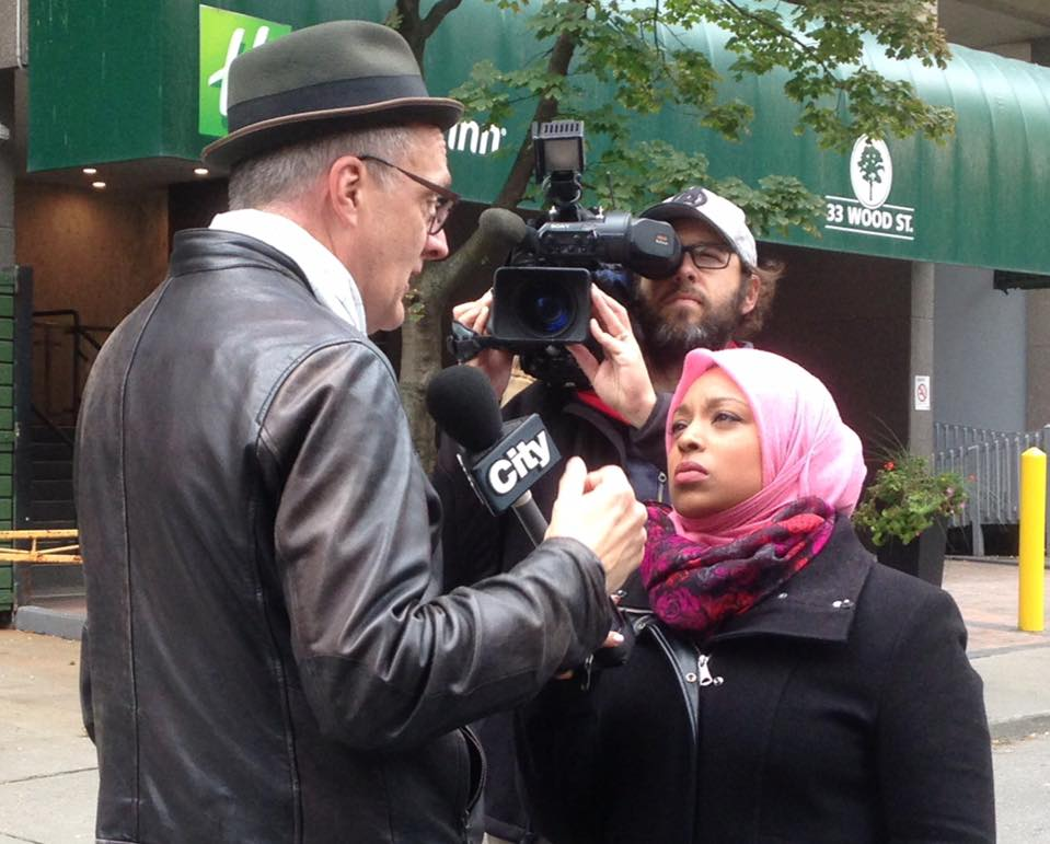 A hijab-wearing news anchor makes history in Canada