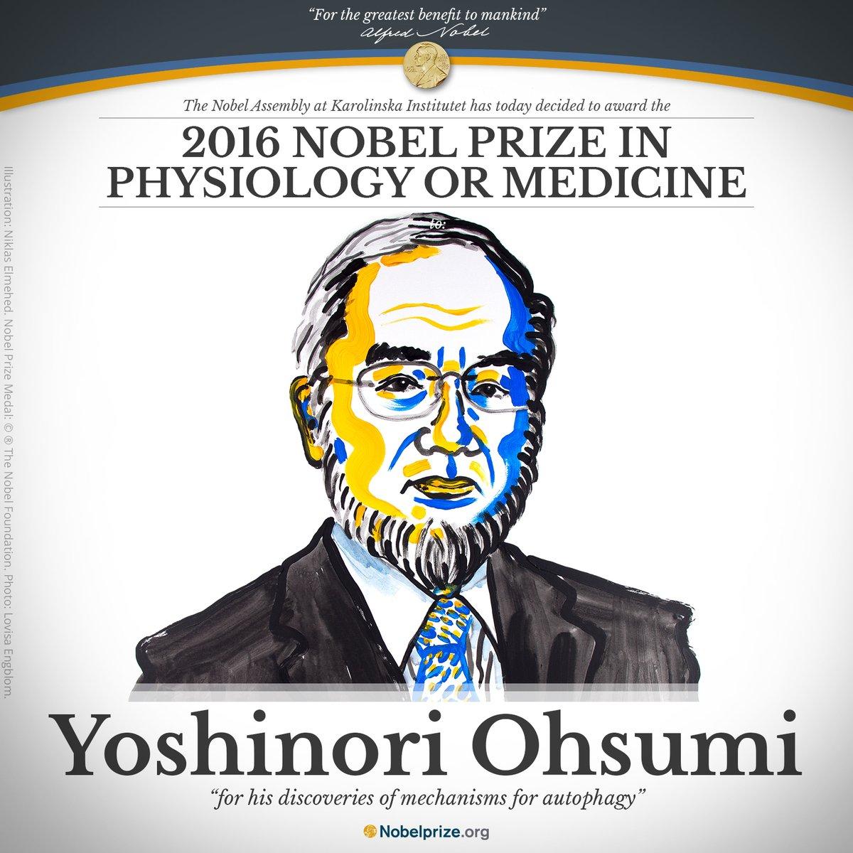 yoshinori ohsumi fasting nobel prize medicine autophagy