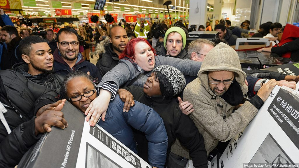 Black Friday and the apex of commercialisation