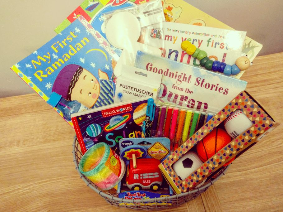 How to make the best Ramadan basket for your child!