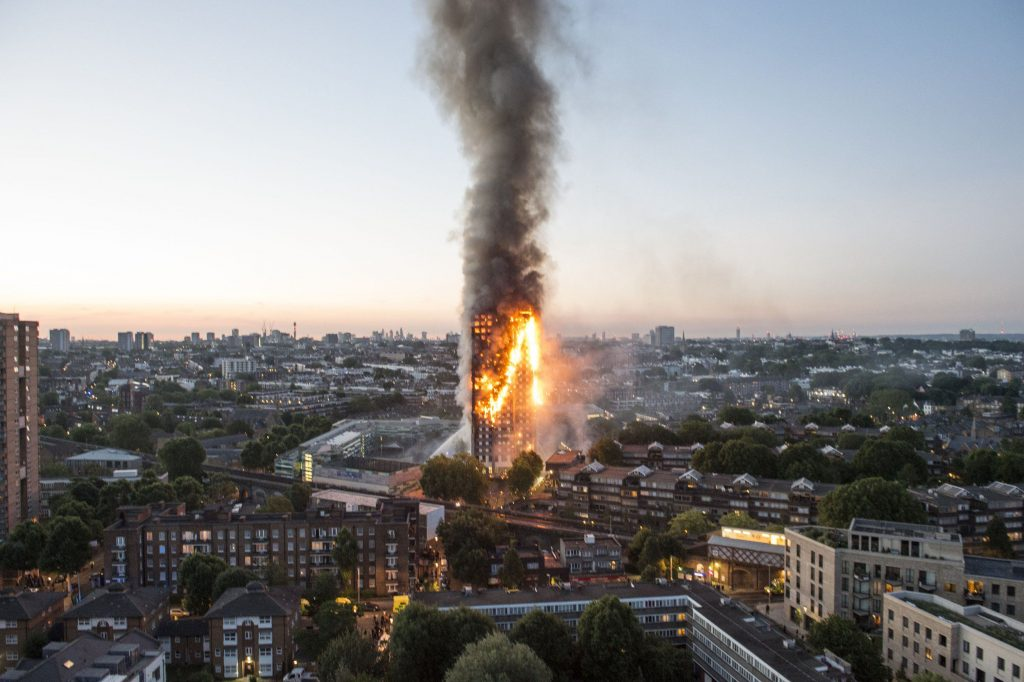 Muslims, Londoners rally after tragic Grenfell Tower fire
