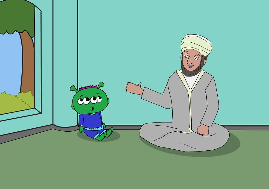 Did you hear about the alien who converted to Islam?
