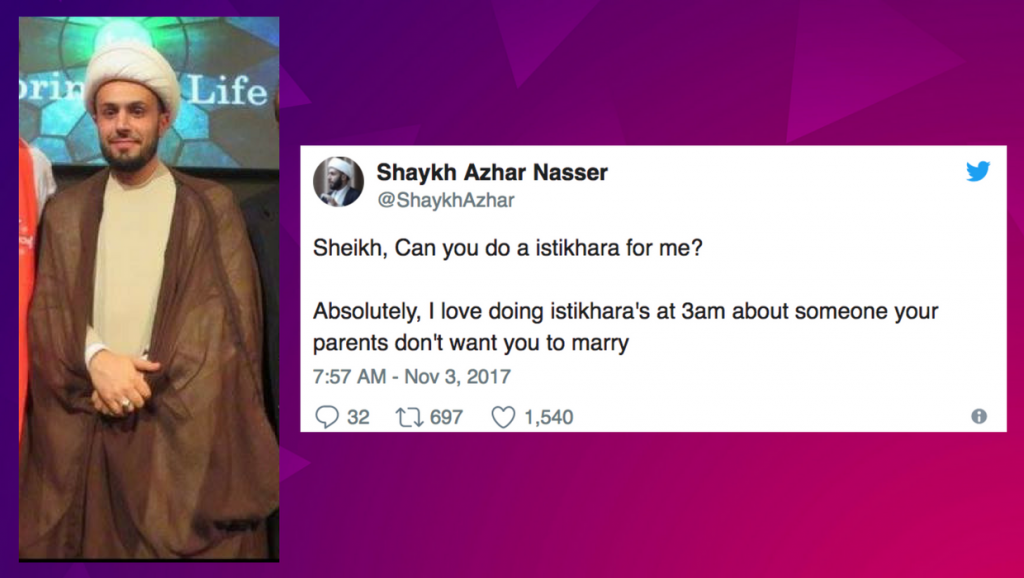This Sheikh tweets questions he gets about Islam…and it's hilarious!