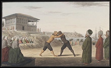 A brief history of wrestling in the Ottoman Empire