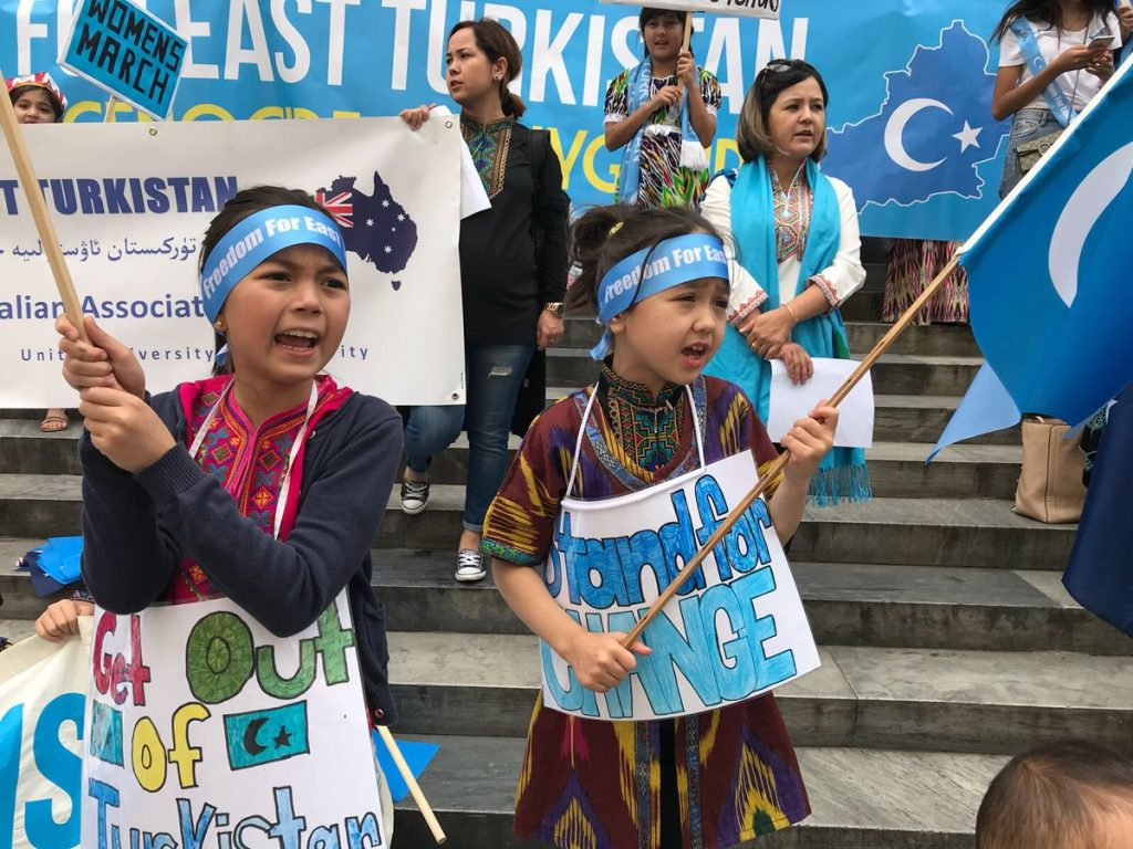Global Protest Against China's Crackdown on Uyghur Muslims
