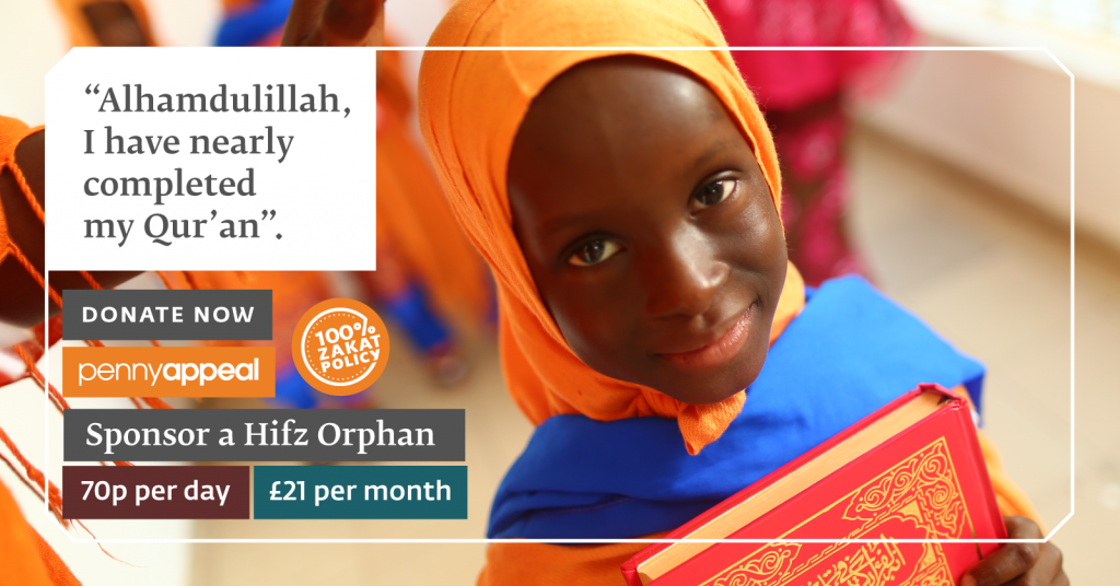 Help Build Bright Futures with the Gift of the Qur'an Today