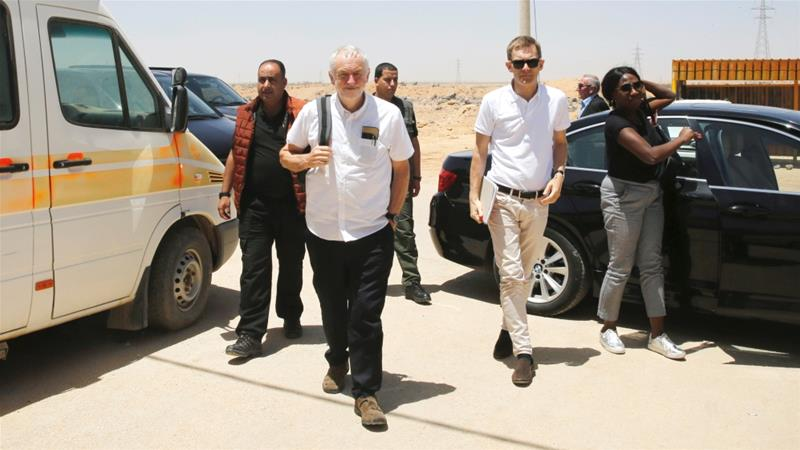 A Labour government would immediately 'recognise Palestine as a state', says Corbyn