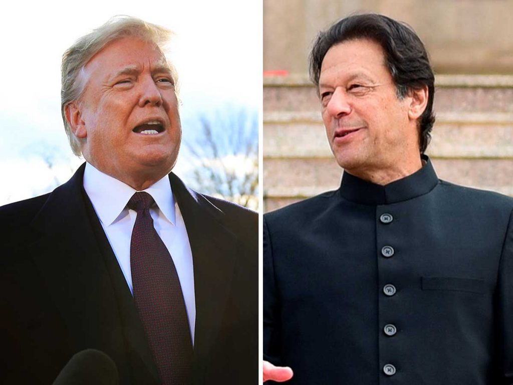 Imran Khan Took On Donald Trump In An All Out Twitter Feud