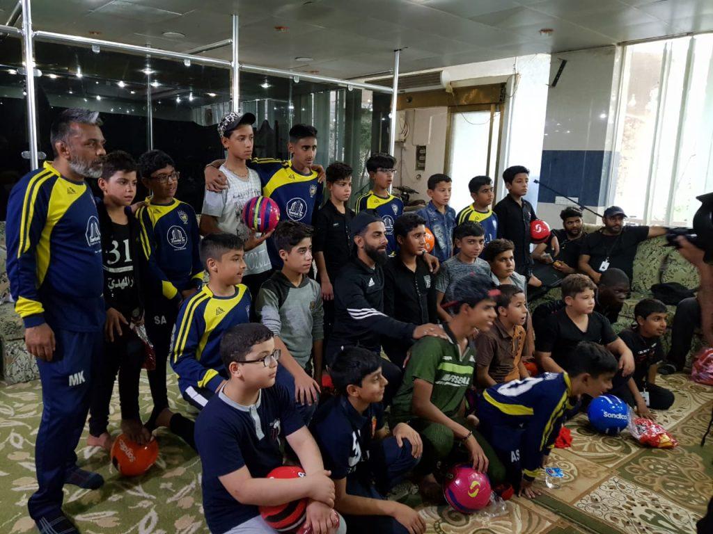 Building Friendships Through Football In Iraq