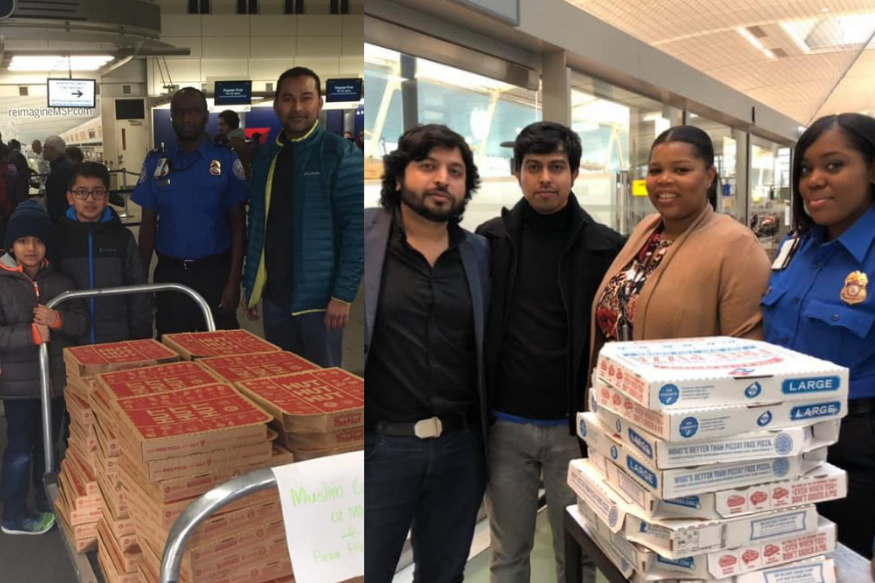 Meet the Muslims who fed TSA agents during Trump's government shutdown