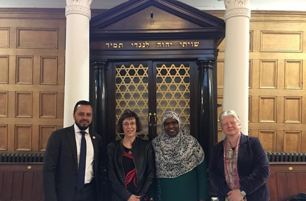 Muslim leaders visit churches, synagogues, and temples in a show of interfaith solidarity