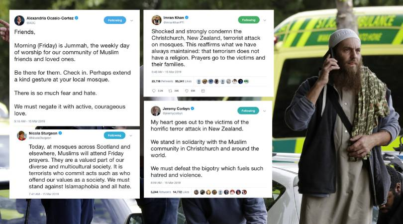 New Zealand terrorist attack: How the world reacted
