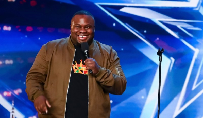Comedian Nabil Abdulrashid Wins the Audience Over on Britain's Got ...